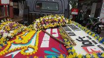 Karangan Bunga Tak Dipasang di RS Tempat Kahiyang Melahirkan
