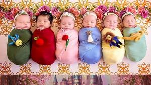Penampilan Putri Disney Saat Bayi dan Berumur 1 Tahun