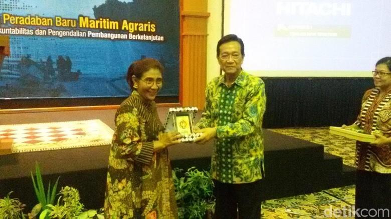 Ini Tokoh yang Dijagokan Susi Pudjiastuti untuk Cawapres Jokowi