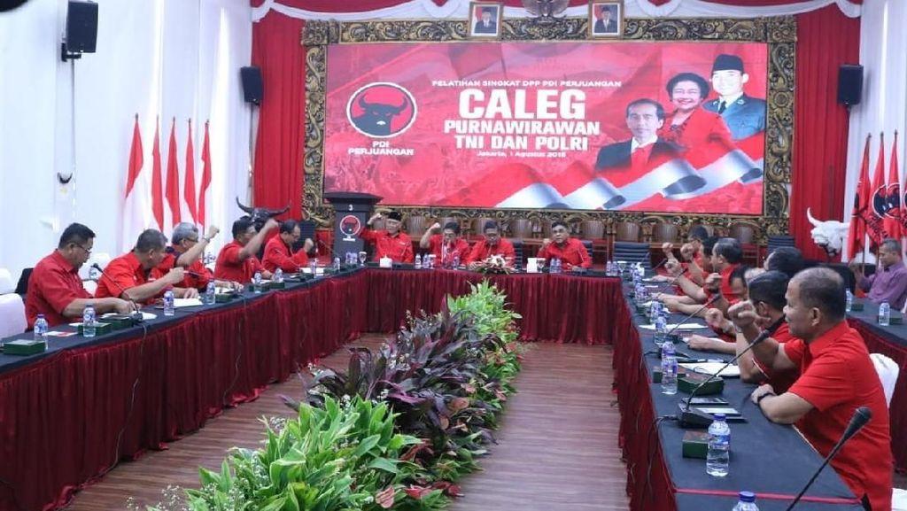 14 Purnawirawan TNI Jadi Caleg PDIP di 2019, Ini Daftarnya