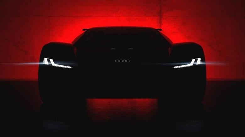 SUV Audi Listrik Foto: Pool (autoexpress)