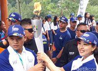 Kirab Obor Asian Games 2018 Bikin Olivia Zalianty Bangga Campur Haru