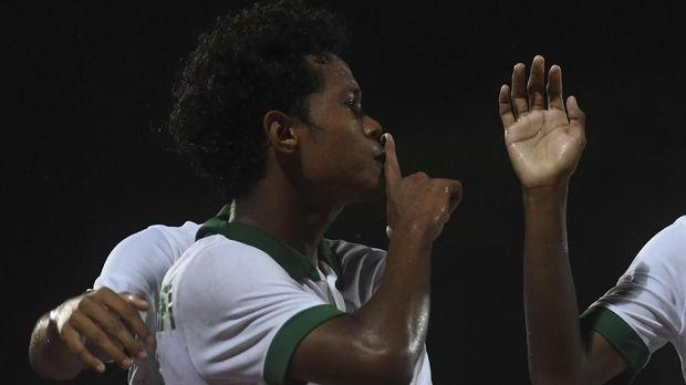 Bagus Kahfi sudah mencetak 12 gol di turnamen Piala AFF U-16 2018.