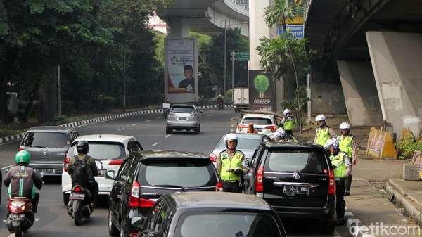e-Tilang Bakal Diuji Coba di Sudirman-Thamrin, Khusus Pelat B