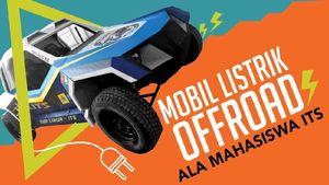 Mobil Listrik Offroad Mahasiswa
