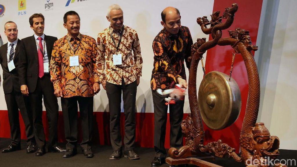 Arcandra Tahar Buka Gas Indonesia Summit & Exhibition 2018