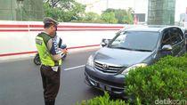 Perluasan Ganjil-Genap di Rasuna Said, 9 Mobil Ditilang