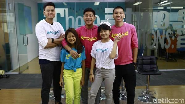 Kolaborasi, RAN Tak Malu Belajar dari Penyanyi Cilik
