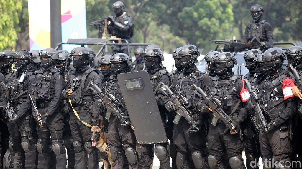 TNI Petakan Wilayah Rawan Bahaya Saat Asian Games