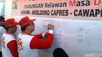 Relawan MDK di Sukabumi Deklarasi Dukung Jokowi-Moeldoko