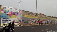 Tak Lagi Tertutup Spanduk, Mural di Cilandak Terlihat Jelas