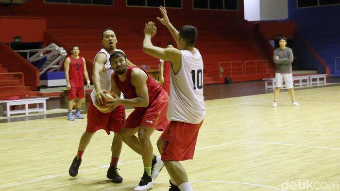TImnas Basket akan tampil di William Jones Cup 2019 (Agung Pambudhy/detikSport)