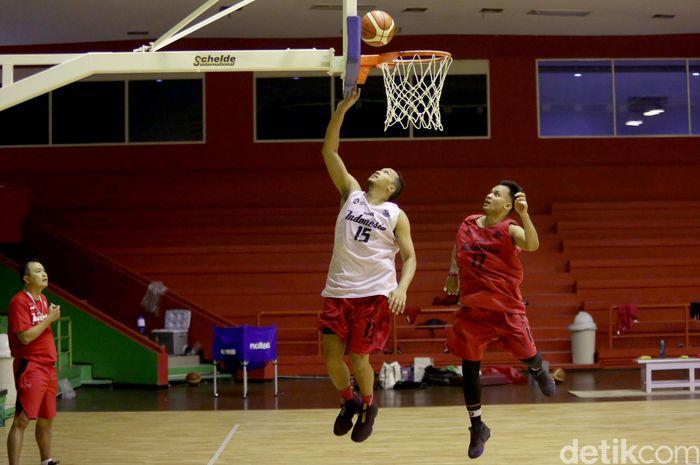 Jelang pelaksanaan Asian Games 2018, Tim Nasional Basket Putra Indonesia semakin fokus berlatih mempersiapkan diri.