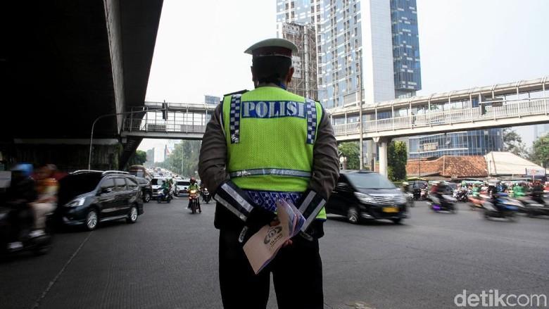 Sistem Ganjil Genap di Jaktim Diklaim Polisi Lancarkan Arus Lalin