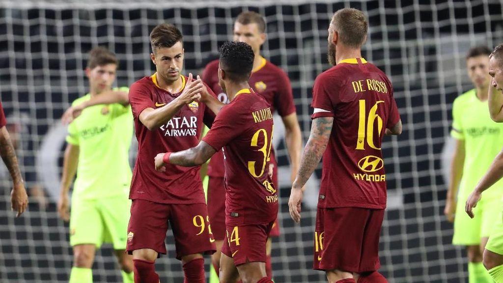 Hasil ICC 2018: Dua Kali Tertinggal, Roma Kalahkan Barcelona 4-2