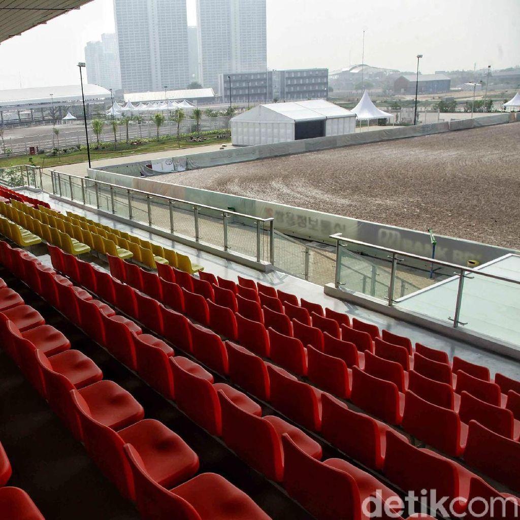Terpesona Wajah Baru Venue Equestrian untuk Asian Games 2018