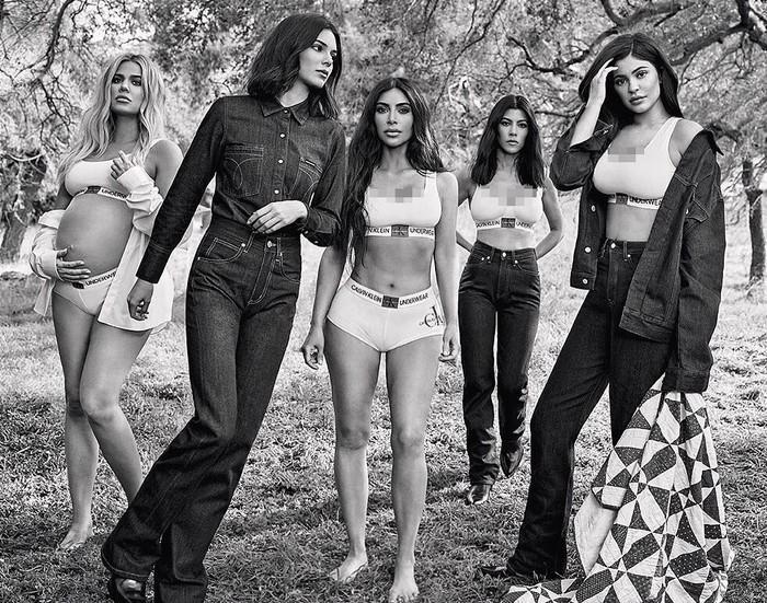 Keluarga Kardashian Jenner di Iklan Calvin Klein. Dok. Calvin Klein