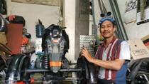 Modifikasi Motor Roda Tiga Pengubah Hidup Difabel di Indonesia