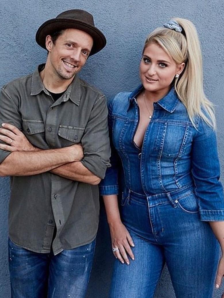 Jason Mraz dan Meghan Trainor Foto: Instagram Meghan Trainor