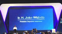 Ketika Pameran Mobil Jadi Tempat Kampanye #Jokowi2Periode