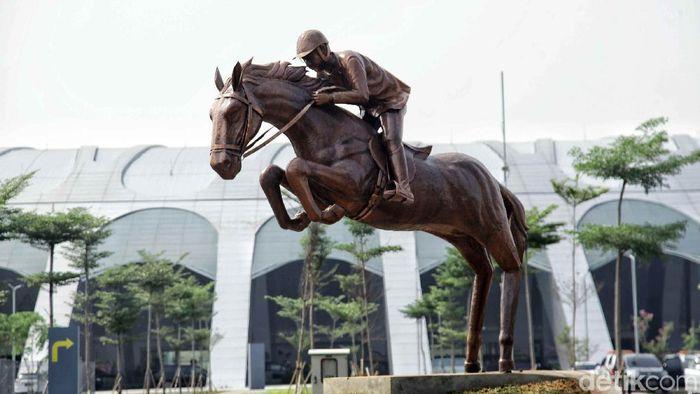 Jakarta Equastrian Park. (Foto: Pradita Utama/detikcom)