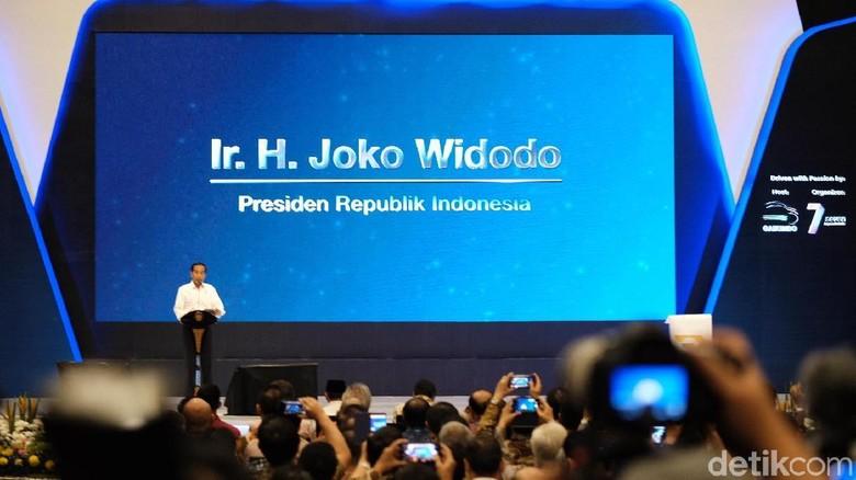 Jokowi Bicara Taksi Online: Anak-anak Kita Jadi Malas Nyetir