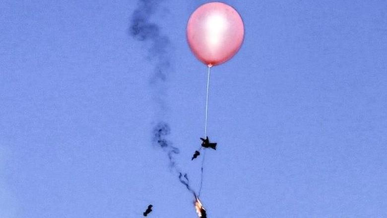 Ada Kiriman Balon Api, Israel Kembali Blokir Suplai Bahan Bakar ke Gaza