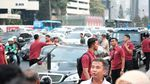 Kemesraan Jokowi-Anies di Atas Trotoar Sudirman