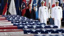 Terima Jenazah Tentara AS, Wapres AS: Kim Tepati Janji