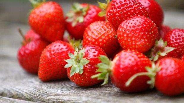 Strawberry salah satu buah yang cocok jadi teman diet.