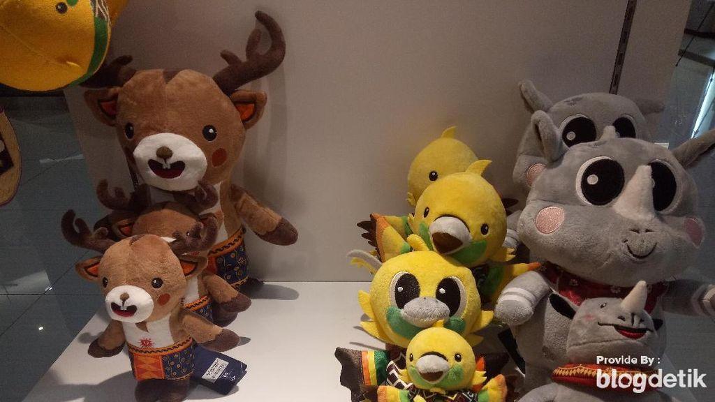 Merchandise Asian Games 2018 Mulai Laris Manis