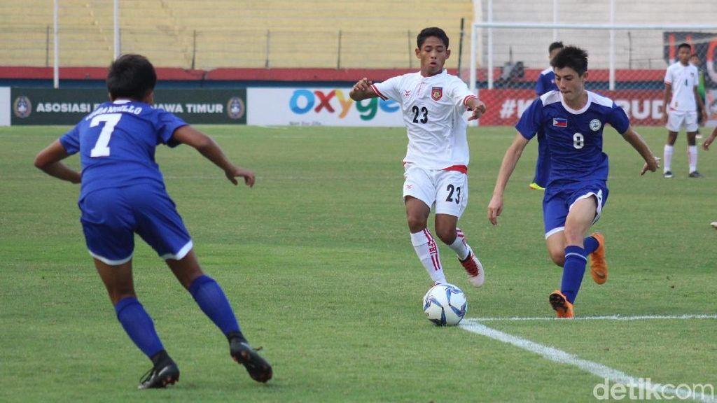 Piala AFF U-16: Myanmar Benamkan Filipina 7-0