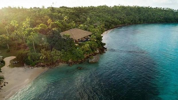 Terdapat sejumlah vila mewah yang bisa disewa (Vatuvara Private Islands Fiji/Instagram)
