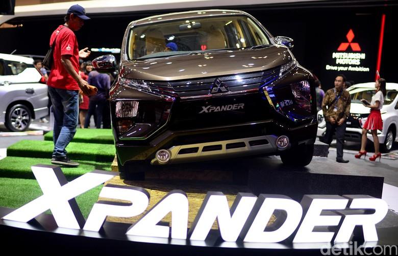 Mitsubishi Xpander. Foto: Ari Saputra
