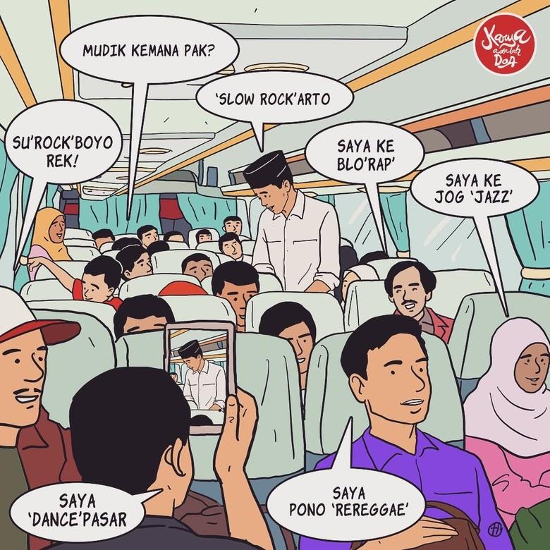 Komik Jokowi Ingin Digambar Lebih Nge-pop