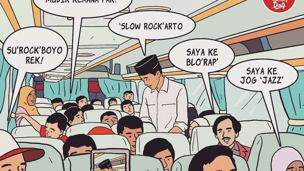 Ini Deretan Komik Jokowi, Sudah Baca?