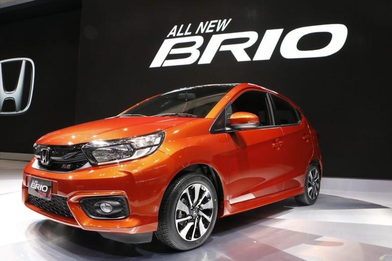 Honda Brio terbaru. Foto: Rangga Rahardiansyah