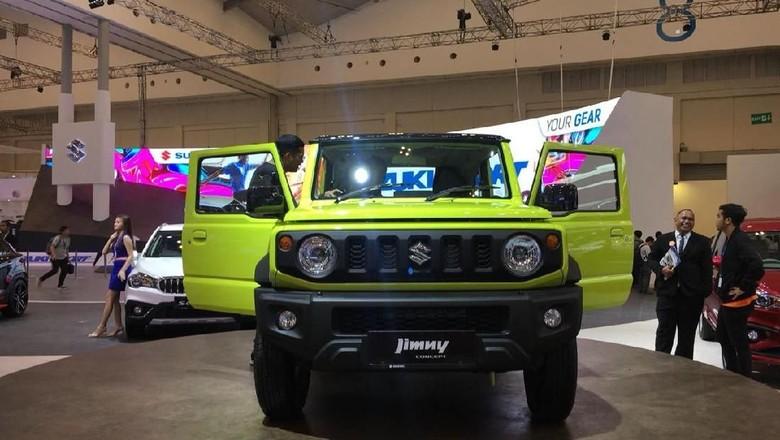 Suzuki Jimny Foto: Dina Rayanti