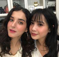 Cantiknya Nagita Slavina Makeup Ala Korea Bareng Tasya Farasya