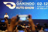 Jokowi Buka GIIAS Pertama Kali pada GIIAS 2018.