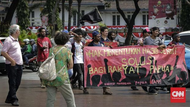 Infrastruktur Jokowi Tak Cukup Bikin Papua Merasa Indonesia