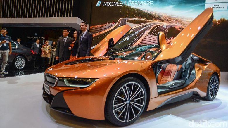 Mantap Bmw Kenalkan Mobil Listrik Cantik I8 Harga Rp 3 9 M