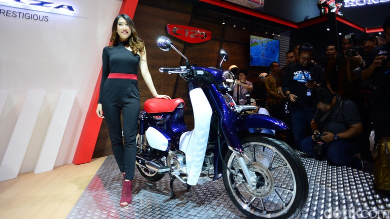 Honda Super Cub 125. Foto: Ari Saputra