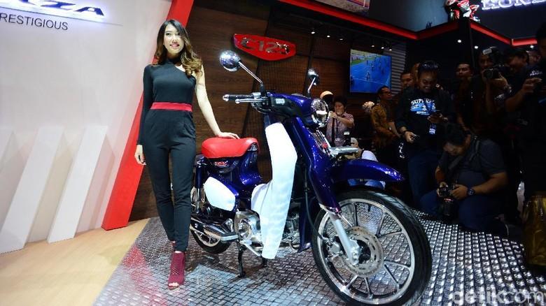 Honda Super Cub 125 (Foto: Ari Saputra)