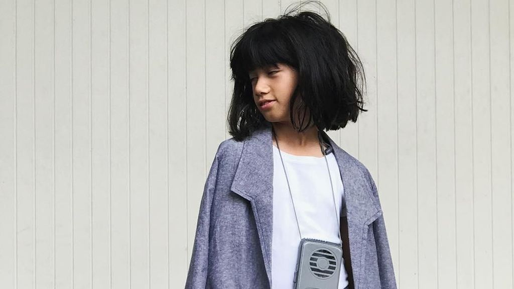Usia 10 Tahun Putri Ersa Mayori Sudah Jadi Fashion Designer
