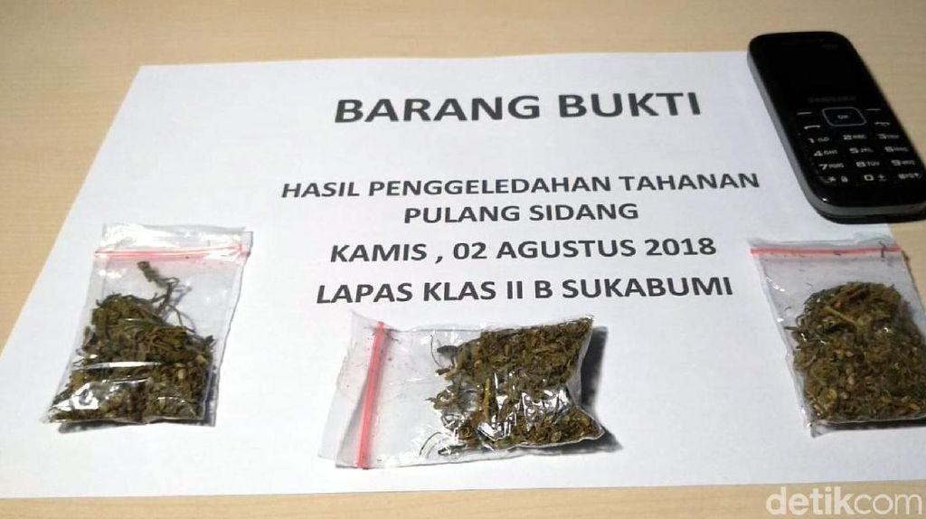 Usai Sidang, 2 Tahanan di Sukabumi Selundupkan Ganja Lewat Anus
