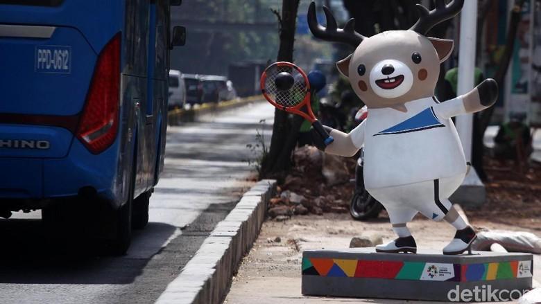 Meriahkan Asian Games, Bekasi Ikut Lomba Hias Gapura