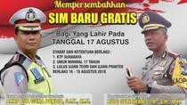 Mau SIM A dan C Gratis di Surabaya, Ini Syaratnya