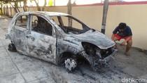 Misterius, Sebuah Mobil Ditemukan Terbakar di Boyolali