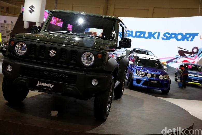 Suzuki Jimny yang sempat bikin Jokowi nostalgia. Foto: Rachman Haryanto